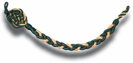 Schützenschnur gold/grün