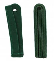 3-streifige Schulterstücke in grün