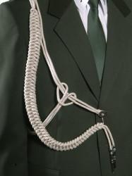 Fangschnur 1 Breitgeflecht (gold oder silber)