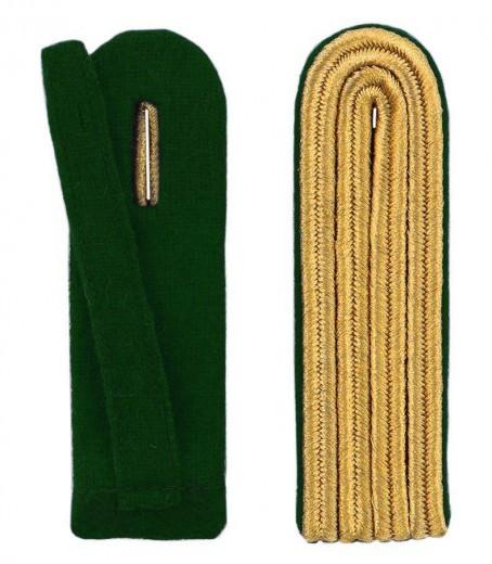 4-streifige Schulterstücke in gold